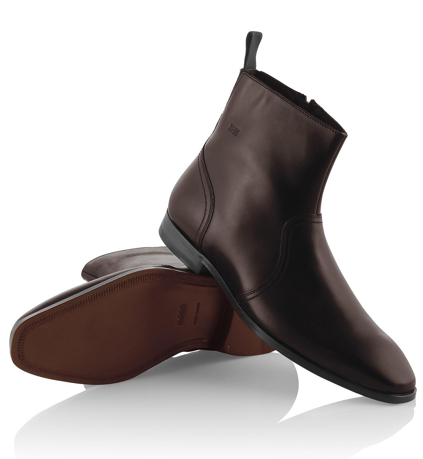 Bottes cuir homme j 39 ai un n cessaire de cirage - Comment nettoyer des chaussures en cuir sans cirage ...
