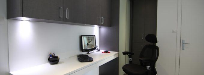 Bureau et espace pro : je choisis les meubles sur mesure