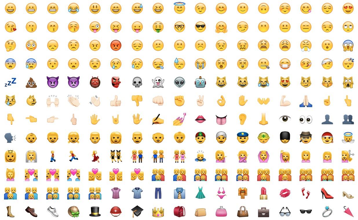 Emoji Iphone Un Message Accompagné D Un Smiley C Est