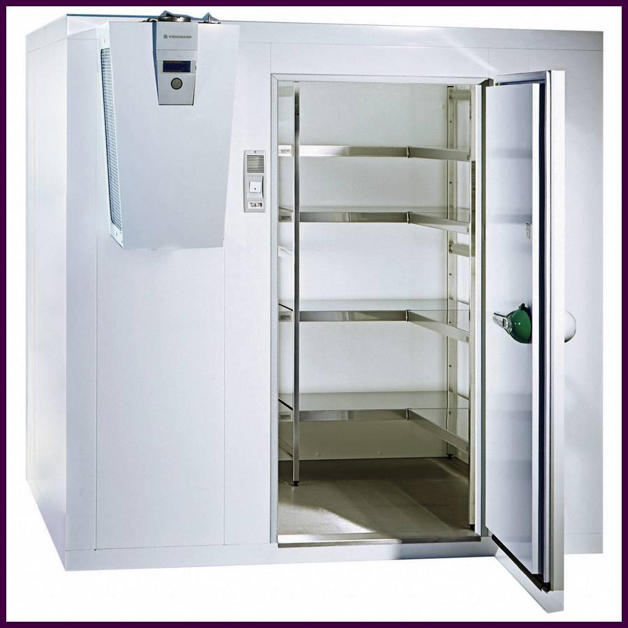 Chambre froide positive : pour conserver et stocker les aliments